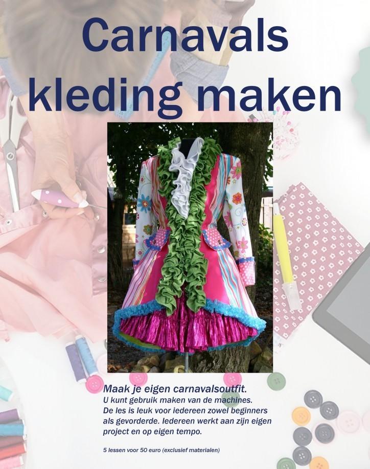 pooster carnavals kleding Ossendrecht